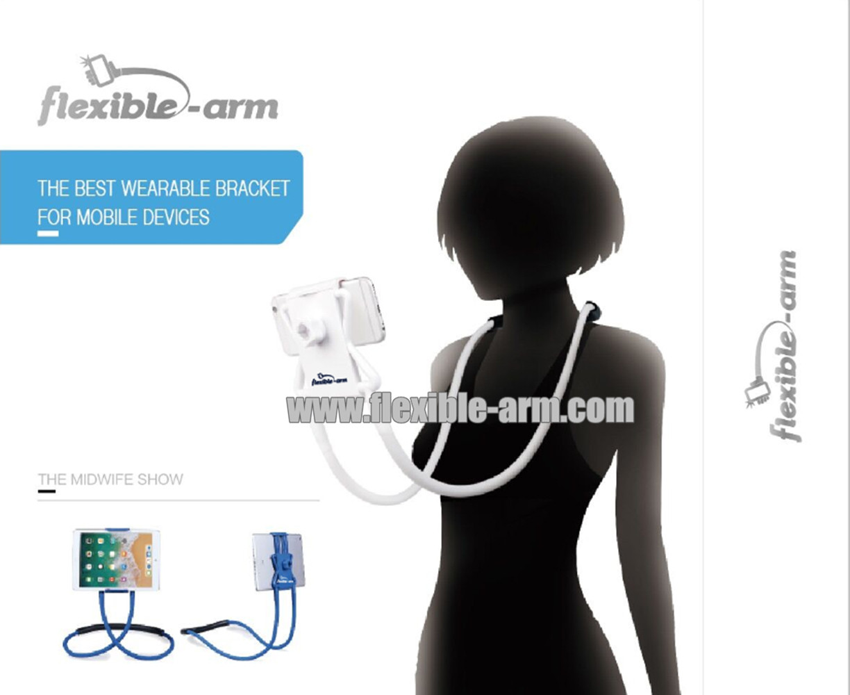 The best Hands Free Flexible Long Arms Lazy Wearable Bracket for Mobile Devices